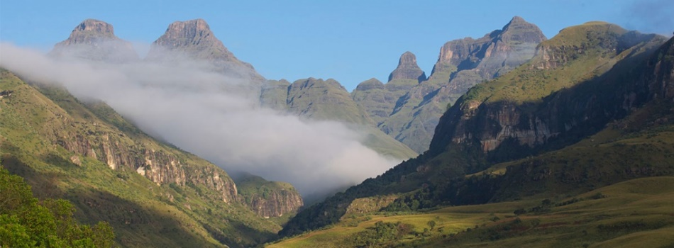 Cathedral Peak Drakensberg South Africa