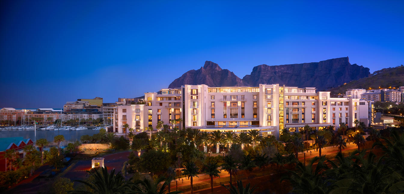 One&Only Cape Town Evening View